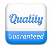 Qualiy guaranteed — Stock Photo