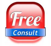 Free consult — Fotografia Stock