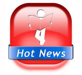 Hot daily breaking news — 图库照片