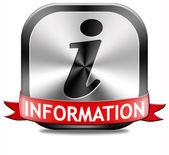 Information button — Stock Photo