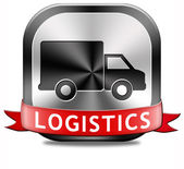 Logistics freight transportation — Стоковое фото