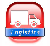 Logistics freight transportation — Stock Photo