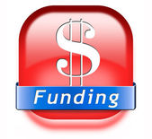 Funding and fund raising — Stock Photo
