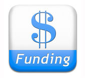 Funding and fund raising — Stock Photo