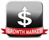 Growth market — Stock Photo