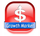Growth market — Stockfoto