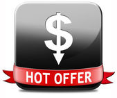 Hot offer — Stock Photo