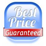 Best price guaranteed — Stock Photo