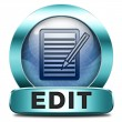 Edit icon — Stock Photo #46718263