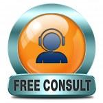 Free consult — Stock Photo