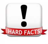 Hard facts scientific proof — Stock Photo