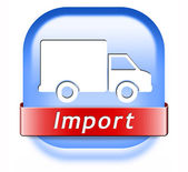 Import international trade — Stock Photo