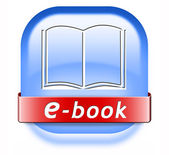 Ebook button — Foto de Stock
