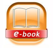Ebook button — Foto de Stock