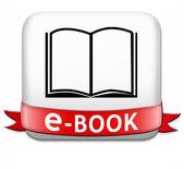 Ebook button — Stock Photo