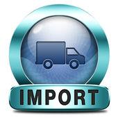 Importação — Foto Stock