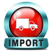 Import — Stock fotografie