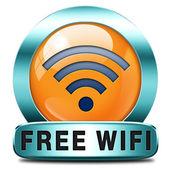 Free wifi — Stock Photo
