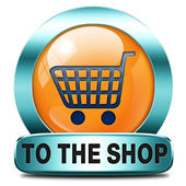 To the shop — Stock Photo