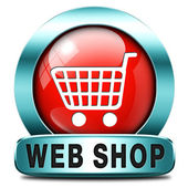 Web shop — Stock Photo