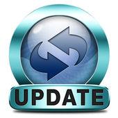 Update-ikonen — Stockfoto