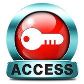 Icona accesso — Foto Stock