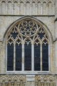 Exterior de la catedral de la ventana — Foto de Stock
