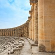 Ancient roman amphitheater Aspendos. — Stock Photo
