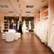The bridal shop. — Stock Photo