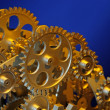Royalty-Free Stock Photo: Part of gears.