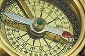 Starožitný kompas. — Stock fotografie