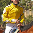 Stock Photo: Thoroughbred Jockey Flavien Prat