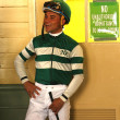 Stock Photo: Thoroughbred Jockey Joel Rosario
