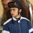 Thoroughbred Jocky frain Hernandez — Stock Photo #41580263