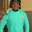 Stock Photo: Thoroughbred Jockey Orlando Mojica