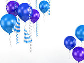 3d shiny ballons — Stock Photo