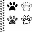 Animal footprint — Stock Vector #16769759