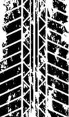 Tire track — Stock Vector