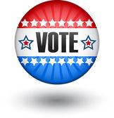 Abd oy işareti — Stok Vektör
