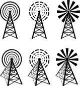 Radio tower — Stock Vector