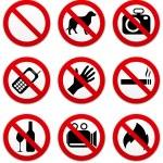 Prohibitor — Stock Vector #22529001
