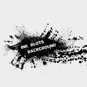 Ink blots background — Stock Vector