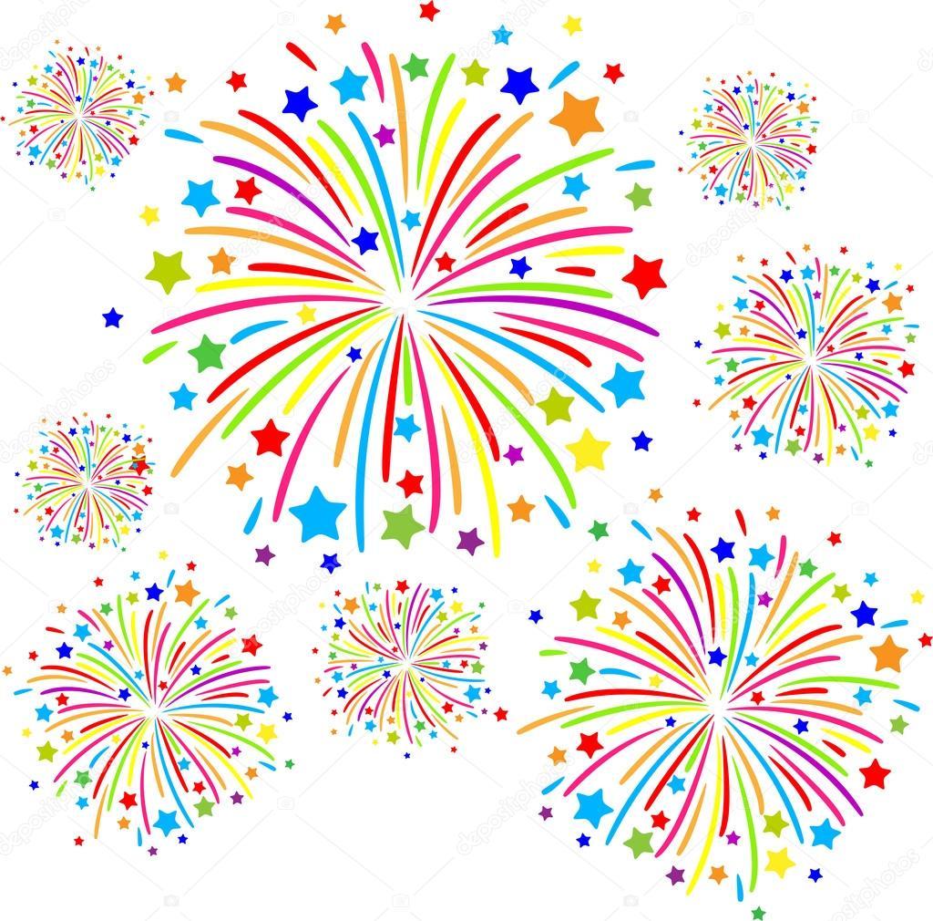disegni facili di fuoco d artificio