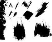 Ink blots grunge — Stock Vector