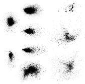 Ink blots splash — Stock Vector