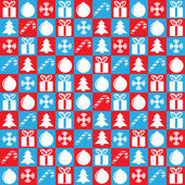 Christmas background square — Stock Vector
