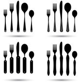 Cutlery set — Stock Vector