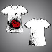 Tshirt — Stock Vector