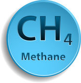 Methane — Stock Vector