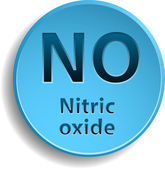 Nitric oxide — Stock Vector